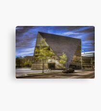 Museum of Contemporary Art Cleveland Canvas Print