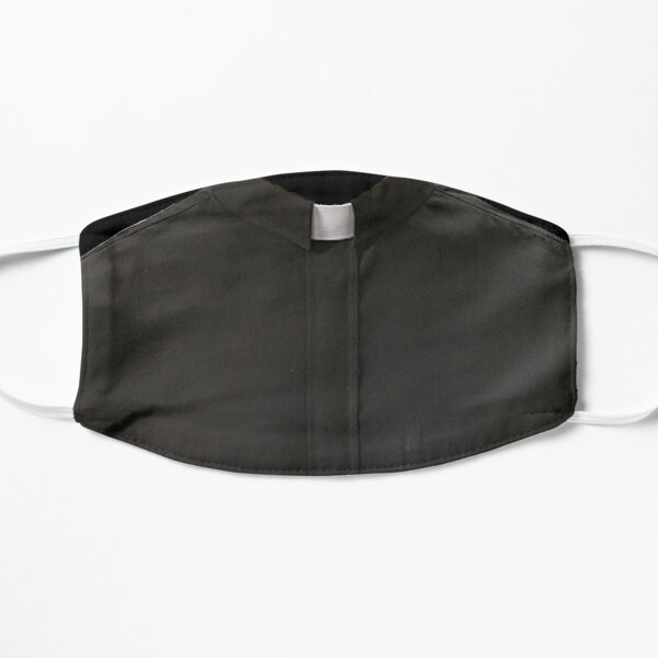 Clergy Shirt Flat Mask