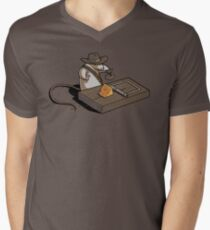 Indiana Mouse Men's V-Neck T-Shirt