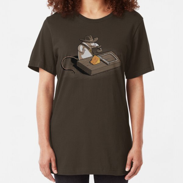Indiana Mouse Slim Fit T-Shirt