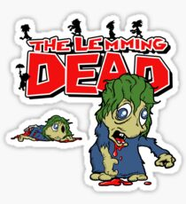 The Lemming Dead Sticker