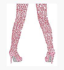 Kinky Boots Photographic Print
