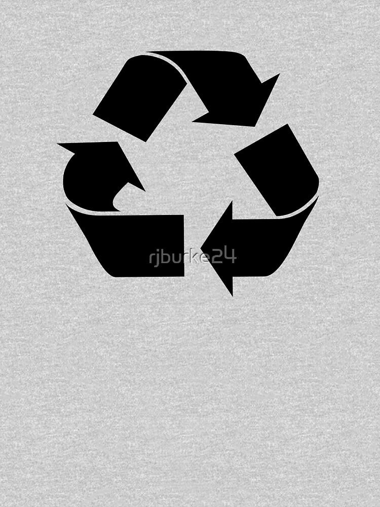 RECYCLE black by rjburke24