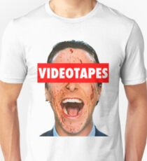 Videotapes American Psycho Unisex T-Shirt