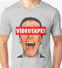 Videotapes American Psycho T-Shirt