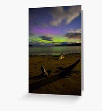 Randalls Bay Aurora Tasmania #10 Greeting Card