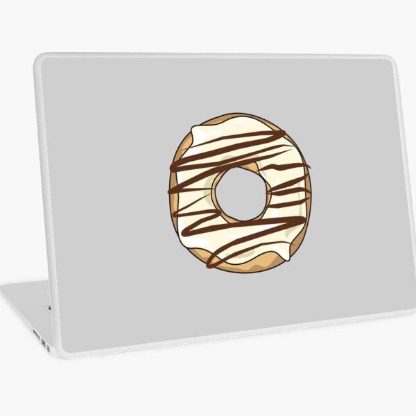 Vanilla Drizzle Donut Laptop Skin