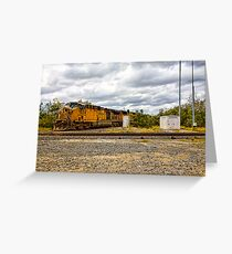 Union Pacific Engine 7034 Greeting Card