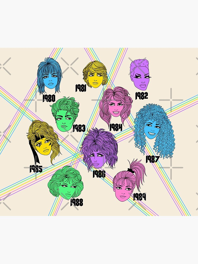 1980s Hairstyles  by MissPennyLane