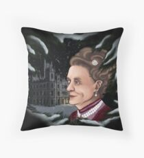 The Dowager Countess of Grantham Throw Pillow