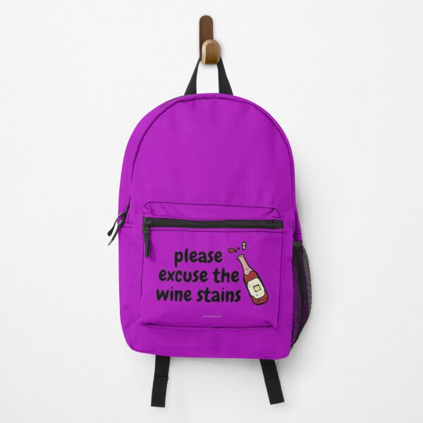 State Of Slay™ - Wine Stains Purple Backpack