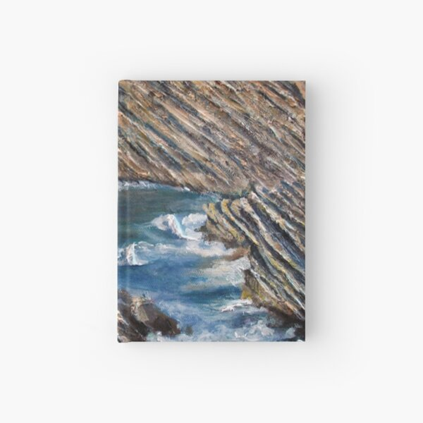 Rochas - Portugal Coast Hardcover Journal