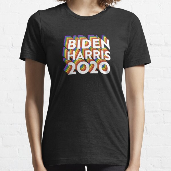 Biden Harris Pride - USA Election LGBT Rainbow - Joe Kamala Essential T-Shirt