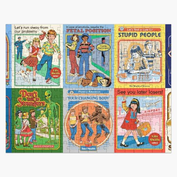 Funny Nostalgia Jigsaw Puzzle