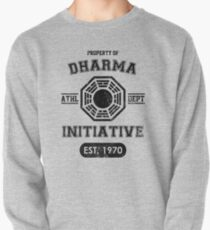 Dharma Initiative athletic department (Black ver.) Pullover