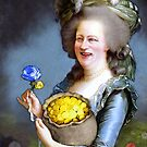 Allegory : David Cameron as Madame Déficit by Trouser