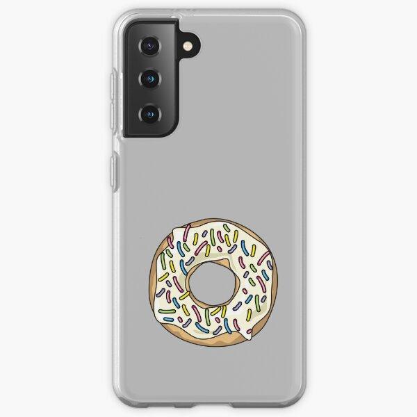 Vanilla Sprinkles Donut Samsung Galaxy Soft Case