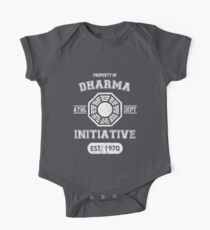 Dharma Initiative athletic department (Light ver.) One Piece - Short Sleeve