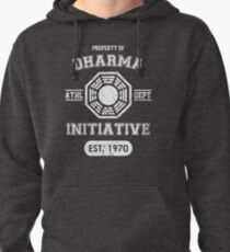 Dharma Initiative athletic department (Light ver.) Pullover Hoodie