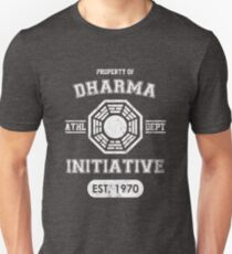 Dharma Initiative athletic department (Light ver.) Unisex T-Shirt