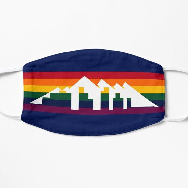 Denver Basketball City Background Design Flat Mask