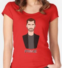 Peter - Fringe Women's Fitted Scoop T-Shirt
