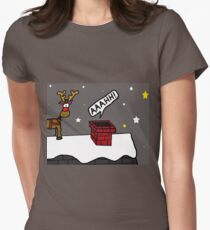 Santa Claustrophobia Women's Fitted T-Shirt