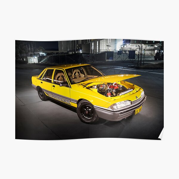 Josh Watson's Holden VL Commodore Poster
