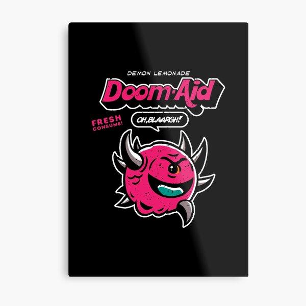 Doom Drink Metal Print