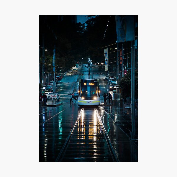Trams Of Melbourne  Photographic Print