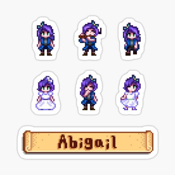 Abigail Gifts Stardew Valley