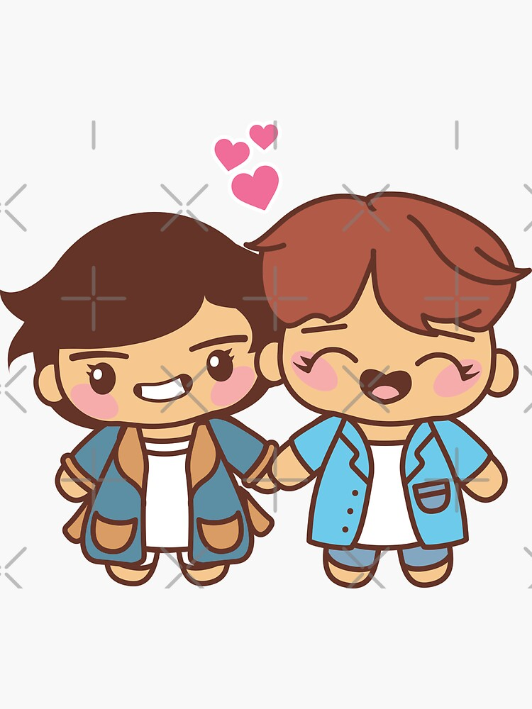 Vhope Pajama Party - BTS Taehyung and Hobi in PJ's ~BTS Pajama Party~ by MikaBees