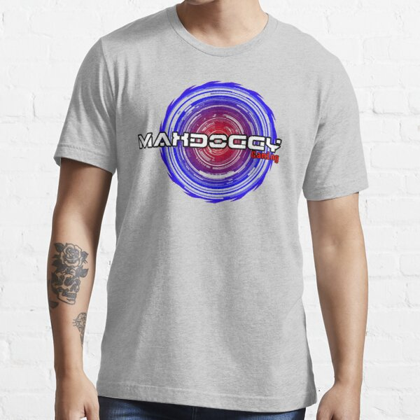 Maxdoggy Gaming - Black Outline Essential T-Shirt