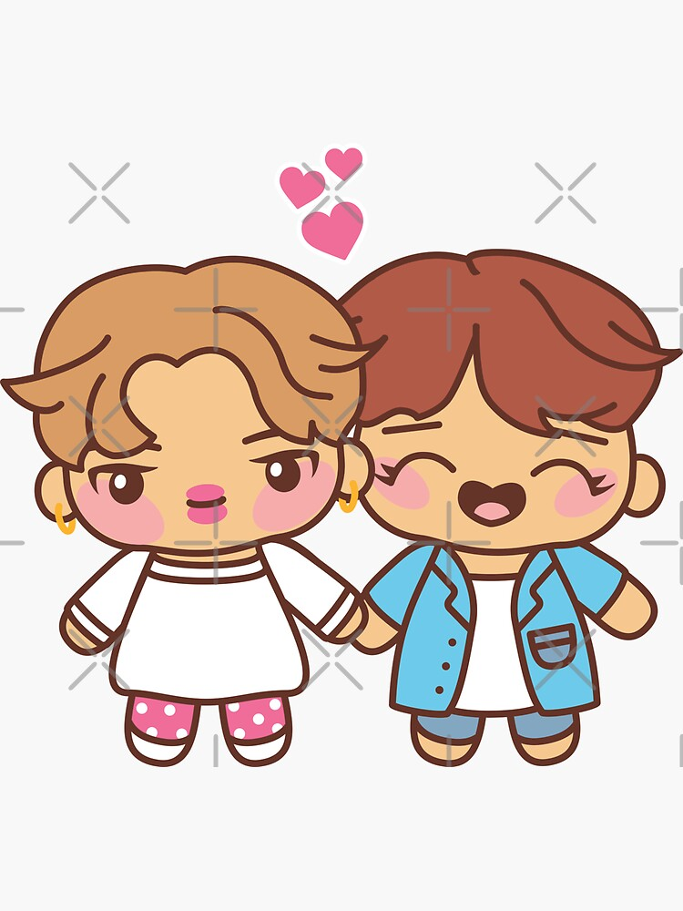 Jihope Pajama Party - BTS Jimin and Hobi in PJ's ~BTS Pajama Party~ by MikaBees