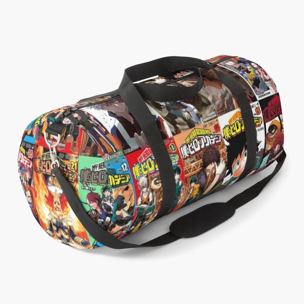 My hero academia Cover Collage Duffle Bag