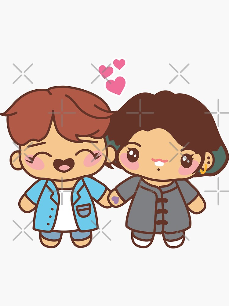 Hopekook Pajama Party - BTS Hobi and Jungkook in PJ's ~BTS Pajama Party~ by MikaBees