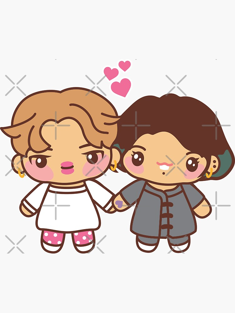Jikook Pajama Party - BTS Jimin and Jungkook ( Kookmin ) in PJ's  ~BTS Pajama Party~ by MikaBees