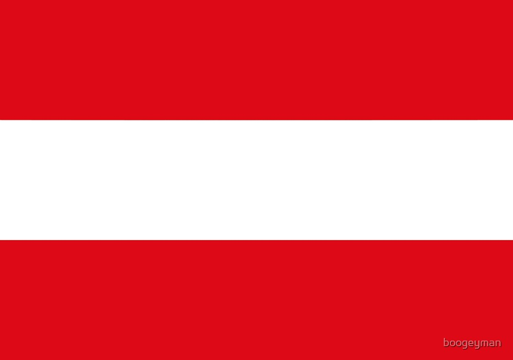 Flag of Austria by boogeyman