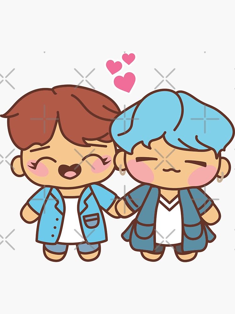 SOPE Pajama Party - BTS Yoongi and Hobi in PJ's ~BTS Pajama Party~ by MikaBees
