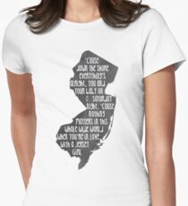 Jersey Girl Womens Fitted T-Shirt