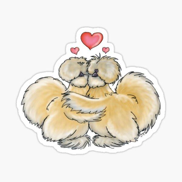 Silkie Love Sticker