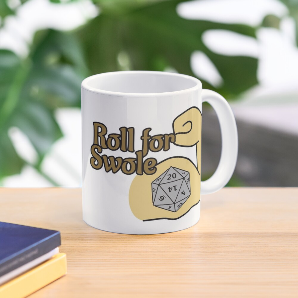 Roll For Swole Mug