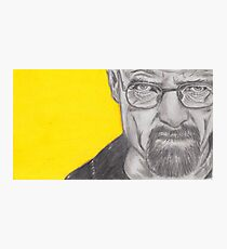 Walter White menacing  Photographic Print