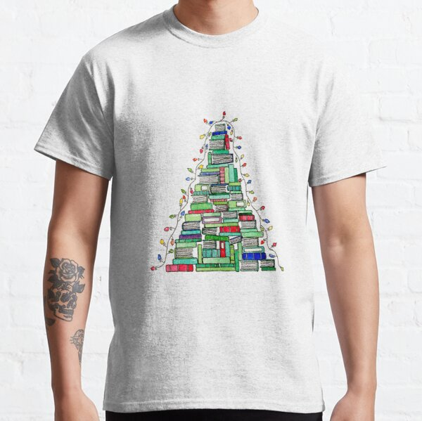 Christmas Book Tree: 2017 Classic T-Shirt