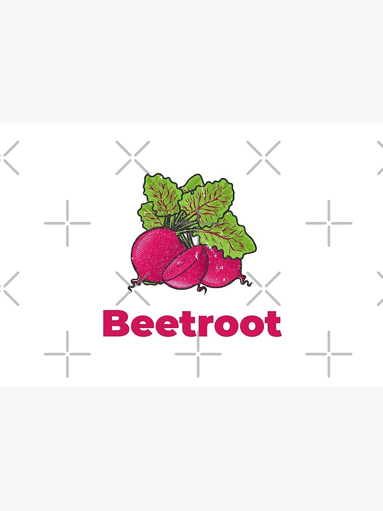 Beetroot Vegetable with Name by nikkihstokes