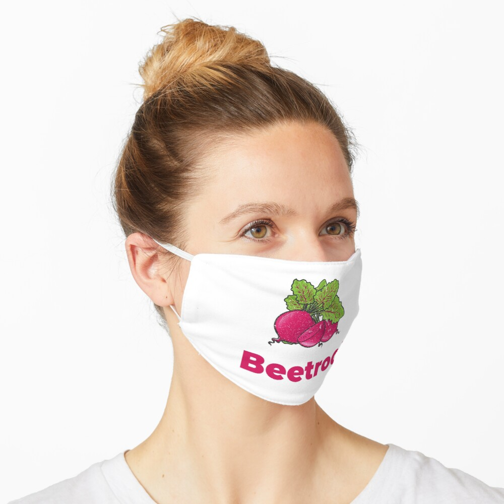 Beetroot Vegetable with Name Mask