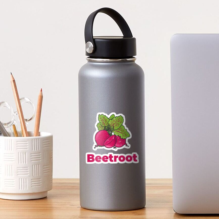 Beetroot Vegetable with Name Sticker