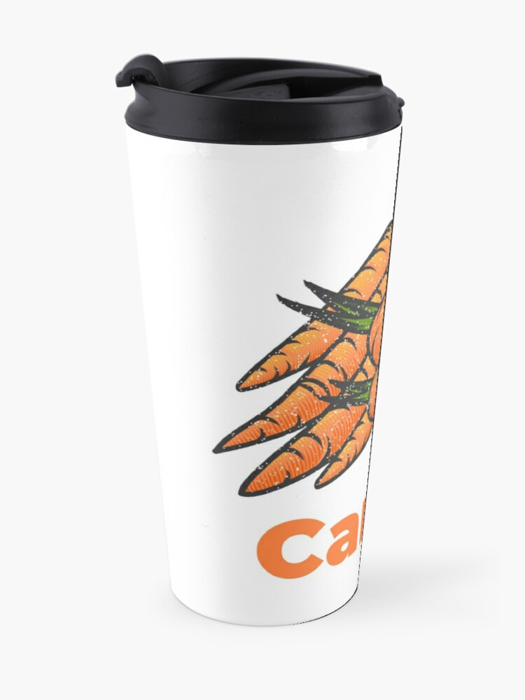 Alternate view of Carrot Vegetable with Name Travel Mug