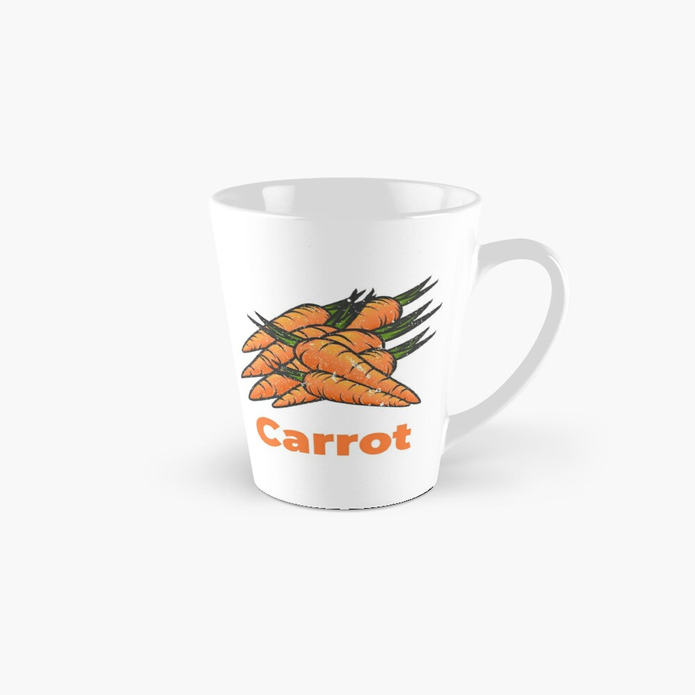 Carrot Vegetable with Name Mug
