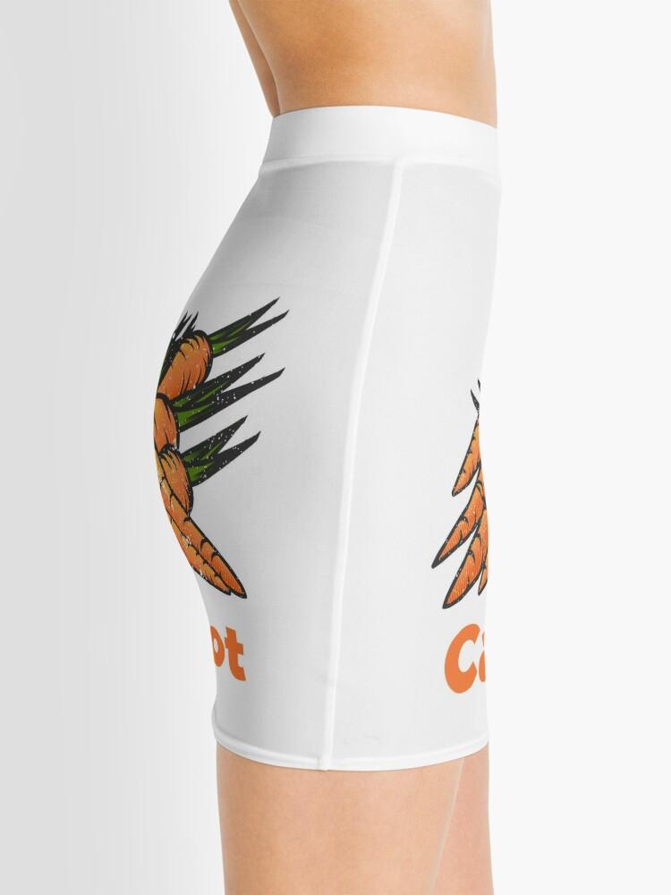 Alternate view of Carrot Vegetable with Name Mini Skirt